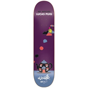Cliché Skateboard Deck - Mr. Men Impact Light Puig 8.25
