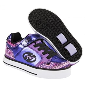 B-Stock Heelys X2 Thunder - Purple/Multi/Print - UK 2 (Cosmetic Damage)