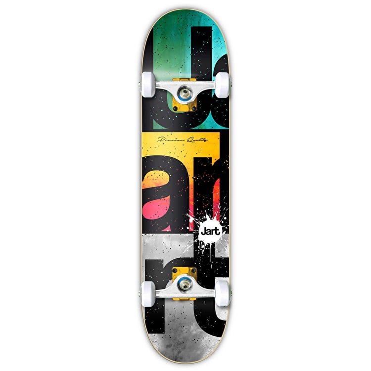 Jart Watercolour Complete Skateboard - 7.75""