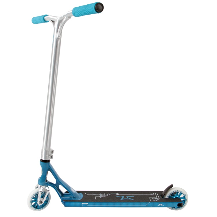 AO Scooters 2018 Quadrum 2 Complete Scooter - Turquoise