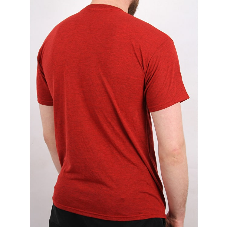 eS Mid Script Tech T-Shirt - Red