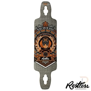 Restless Longboard Deck - Splinter Series Crest 38