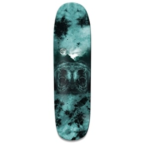 Grizzly Roar At The Moon Skateboard Deck - Black