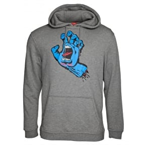 Santa Cruz Screaming Hand Hoodie - Dark Heather