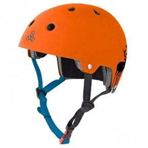 Triple 8 Brainsaver Switzer Pro Helmet - Orange