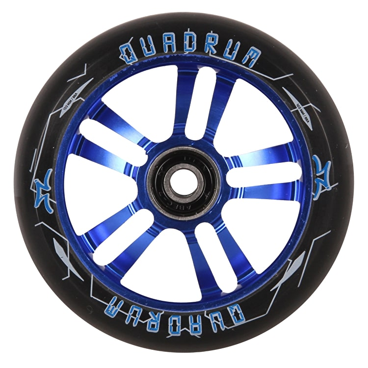 AO Quadrum 10-Star Scooter Wheel 110mm - Blue