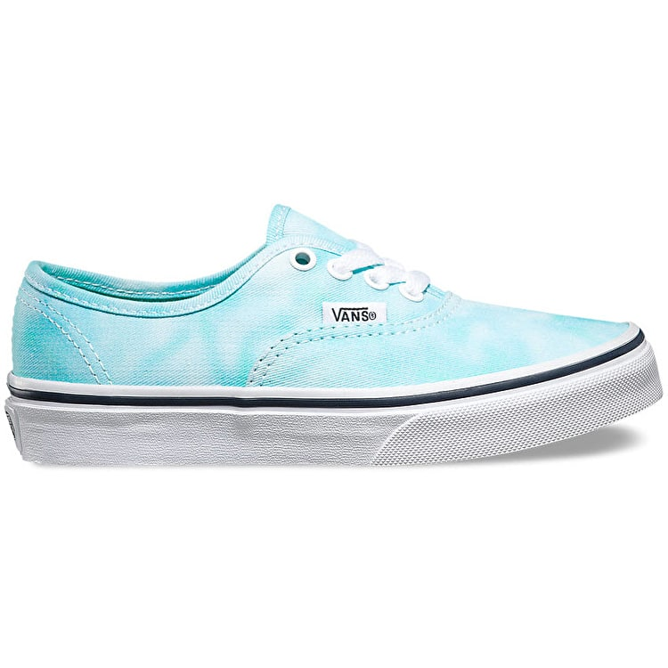Vans Authentic Kids Shoes - (Tie Dye) Turquoise