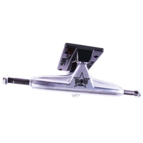 Iron Skateboard Trucks - Low Silver 5.0