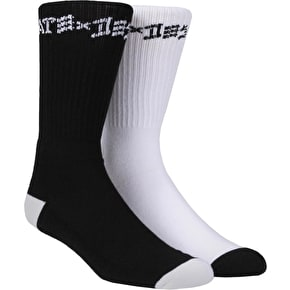 Thrasher Skate & Destroy Socks - 2 Pack