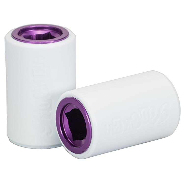 Rocker IROK 10mm Stunt Plegs - White/Purple