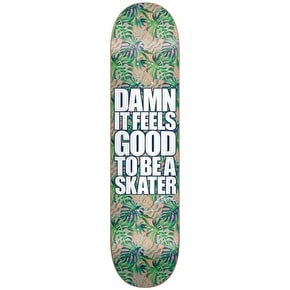 Blind Damn Plantlife SS Skateboard Deck - Green 8