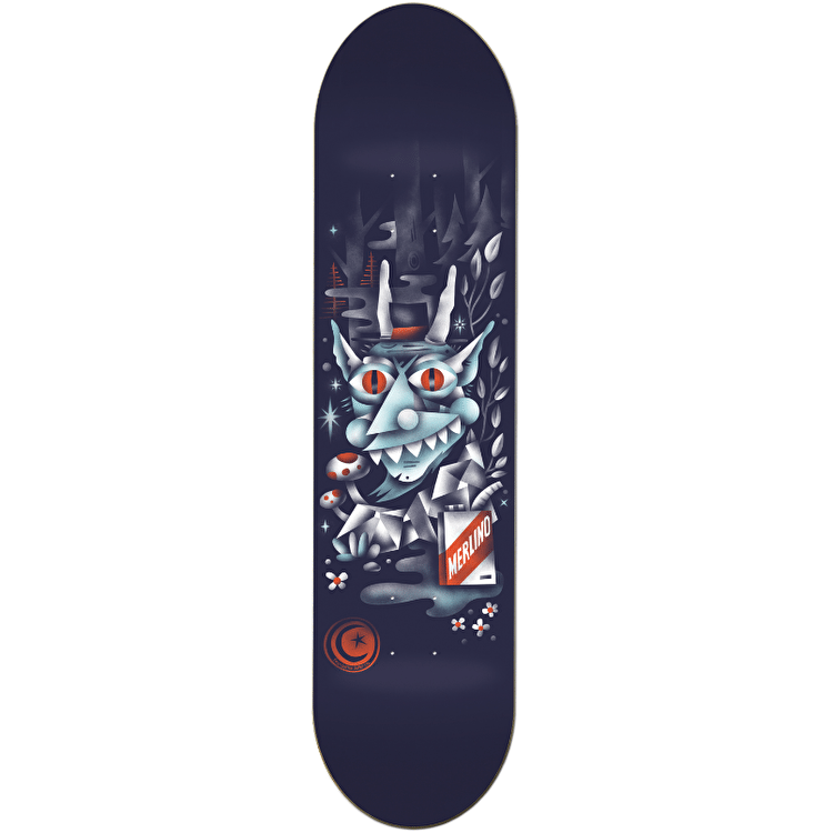 Foundation Merlino Woodwraith Skateboard Deck - 8""