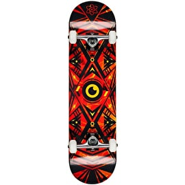 Rocket Surveillance Series Complete Skateboard - Flames 8