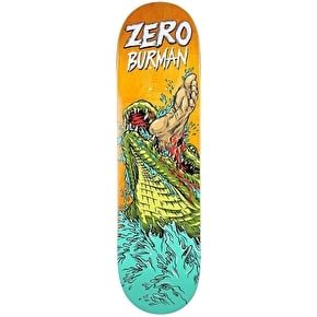 Zero Skateboard Deck - Animal Attack Burman 8.375