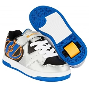 Heelys Hyper - Silver/Black/Royal/Orange UK 1 (B-Stock)
