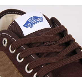 Vans Chukka Low Pro Skate Shoes - (Two Tone) Coffee Bean/Teak