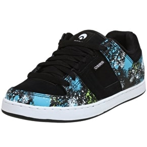 Osiris Tron Kids Shoes - Black/Spray