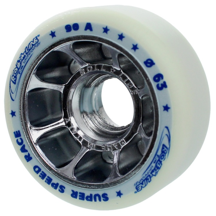 Roll Line Super Speed Race 63mm Wheels 90A (8pk)