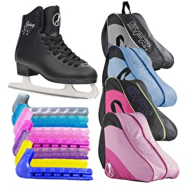 SFR Galaxy Ice Skate Bundle - Black