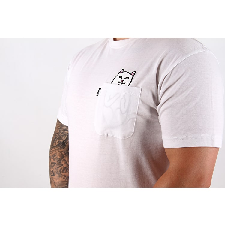 RIPNDIP Lord Nermal Pocket T shirt - White