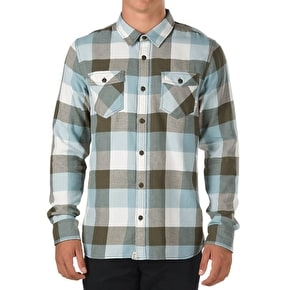 Vans Box Flannel Shirt - Grape Leaf/Stone Blue