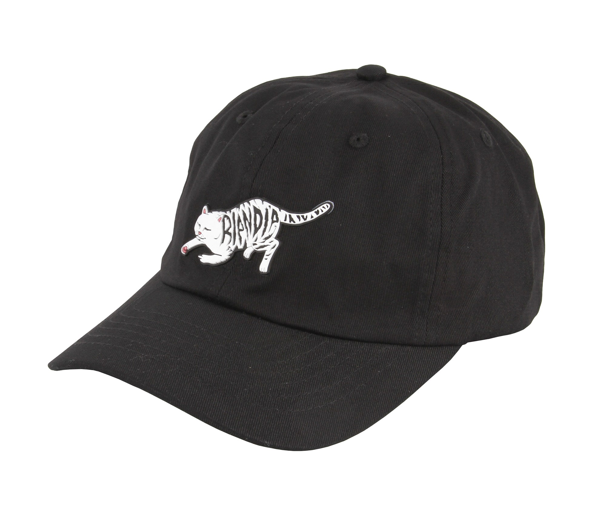 Image of RIPNDIP Tattoo Nerm Dad Cap - Black