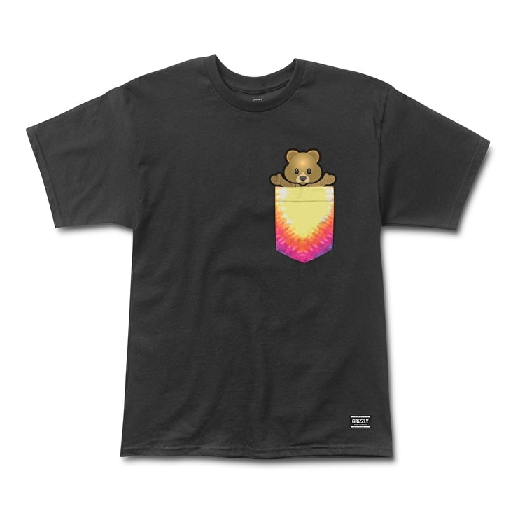 Grizzly Pudwill Pro Bear Pocket T-Shirt