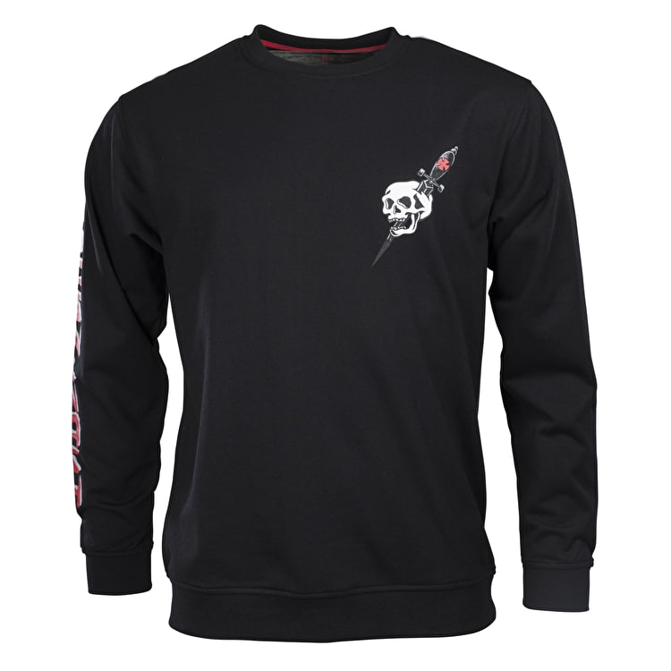 Independent Dressen Skull Crewneck - Black