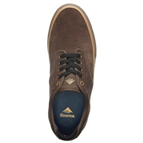 Emerica Wino G6 Skate Shoes - Brown/Gum
