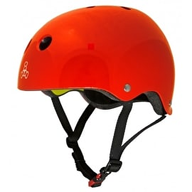 Triple 8 Brainsaver MIPS Helmet - Red Gloss
