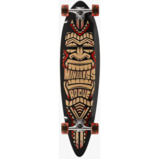 Mindless Tribal Rogue III Complete Longboard - Black/Red