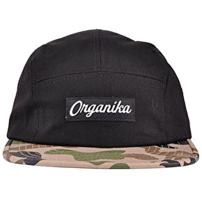 Organika Animal Camo Cap - Black