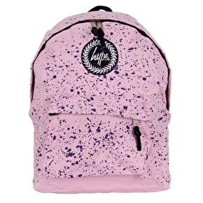 Hype Speckle Backpack - Baby Pink/Purple