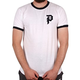 Primitive Dirty P Ringer T-Shirt - White/Navy