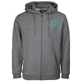 Independent Rails Zip Hoodie - Dark Heather