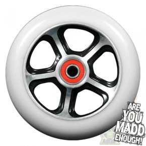 MGP DDAM CFA Scooter Wheel - Black / White 110mm