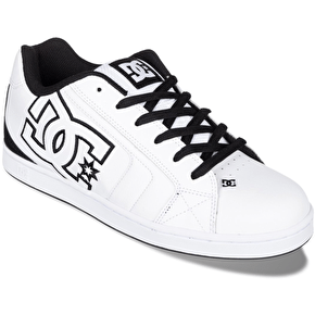 DC Net Shoes - White/Black