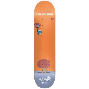 Cliché Skateboard Deck - Mr. Men Impact Light Villemin 7.75