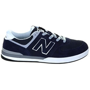 New Balance Logan-S 636 Shoes - Navy Grey