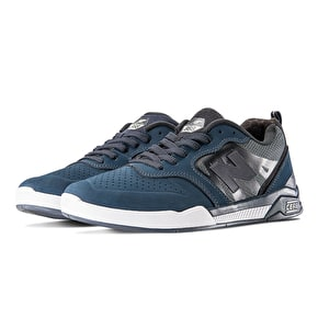 New Balance Numeric 868 Skate Shoes - Obsidian/White