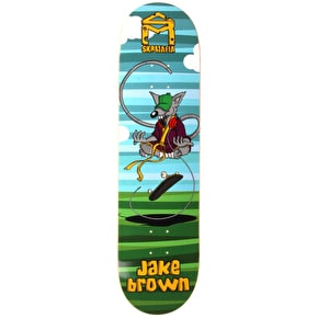 SK8 Mafia SK8 Rats Skateboard Deck - Brown 8.25