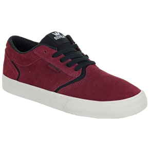 Supra Shredder Shoes - Port/Black/Bone
