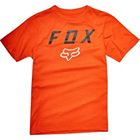 Fox Youth Contended T-Shirt - Orange