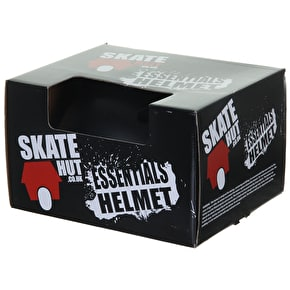 B-Stock SkateHut Essentials Helmet - Black/Red (XXS-XS (49cm - 52cm))  (Box Damage)