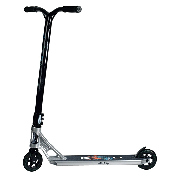 AO Delta 4 Complete Scooter - Silver