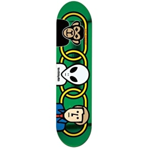 Alien Workshop Missing Link Skateboard Deck - Green 8.375