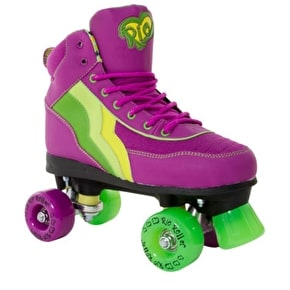 B-Stock Rio Roller Quad Skates - Grape - UK 8 (Scuffed Wheels)