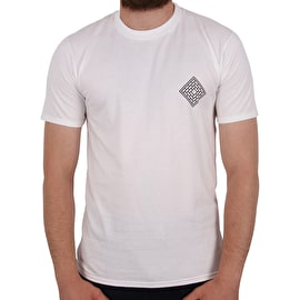National Skateboard Co X Ben Horton T shirt - White
