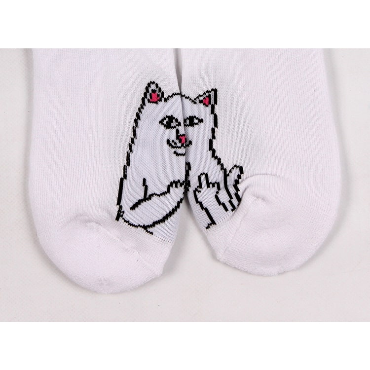 RIPNDIP Lord Nermal Ankle Socks - White
