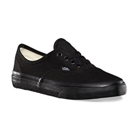 Vans Authentic Kids Shoes - Black/Black
